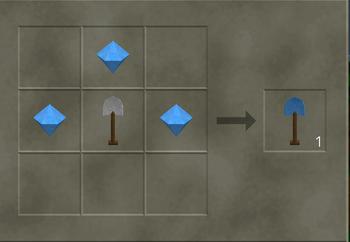 Diamond Edge Shovel craft