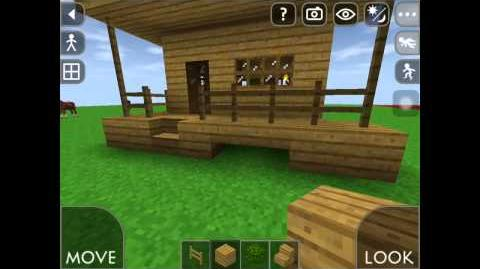 Survivalcraft survival craft how to make beter houses(easy tips and tricks )