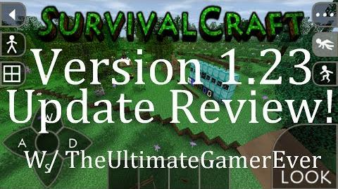 Survival Craft Version 1.23 Update Review!