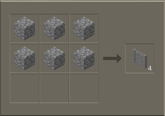 How To Craft A Fence Part - 22: Stone Fence Craft