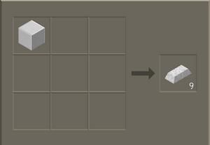 Diamantleironblock