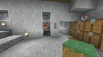 Fire in wall