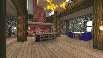 Chalet main floor