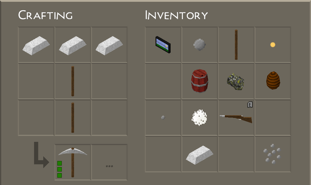 Image crafting table survivalcraft wiki for How to draw a crafting table