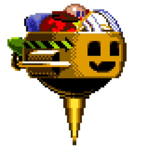 Dr. Robotnik halloween-exclusive sprite.