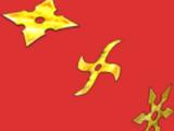 Golden Ninja Stars