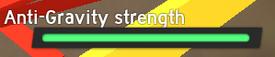 Anti-Gravity Strength Meter