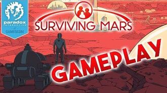 Surviving Mars Gameplay WORLD PREMIERE - Gamescom 2017