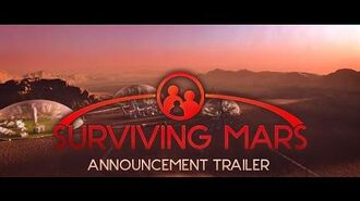 Surviving Mars - Announcement Trailer
