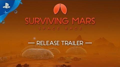 Surviving Mars Space Race - Release Trailer PS4