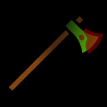 Loot-melee-woodaxe-bloody
