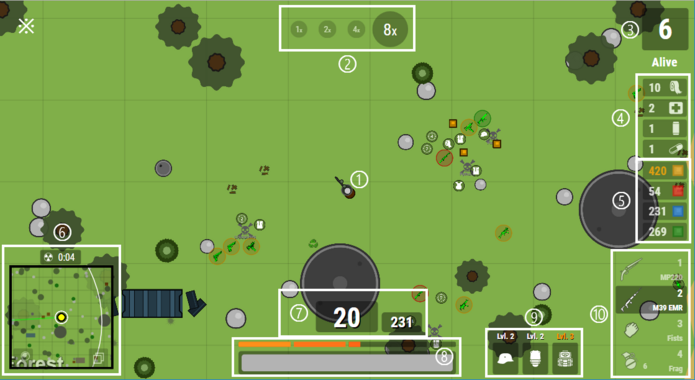 Surviv play