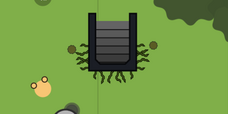 Bunker without covering trees.