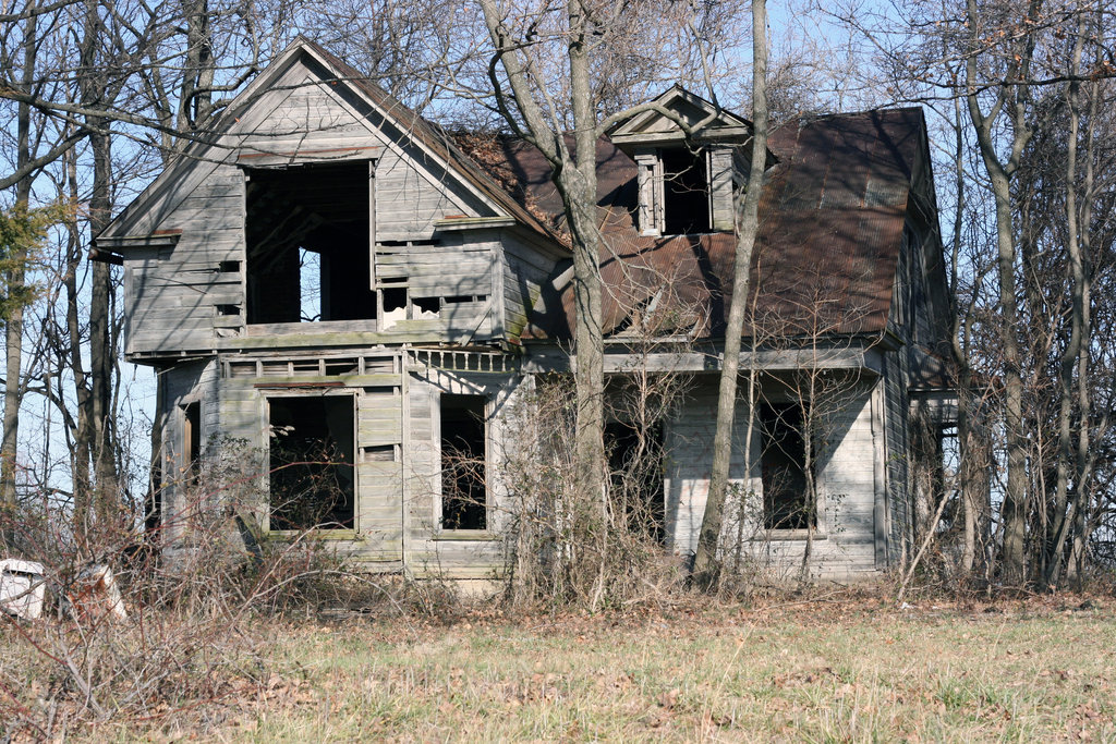 Abandoned House By Mooredodge