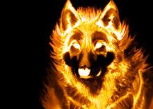 Fire wolf by lamar823-d318vx6