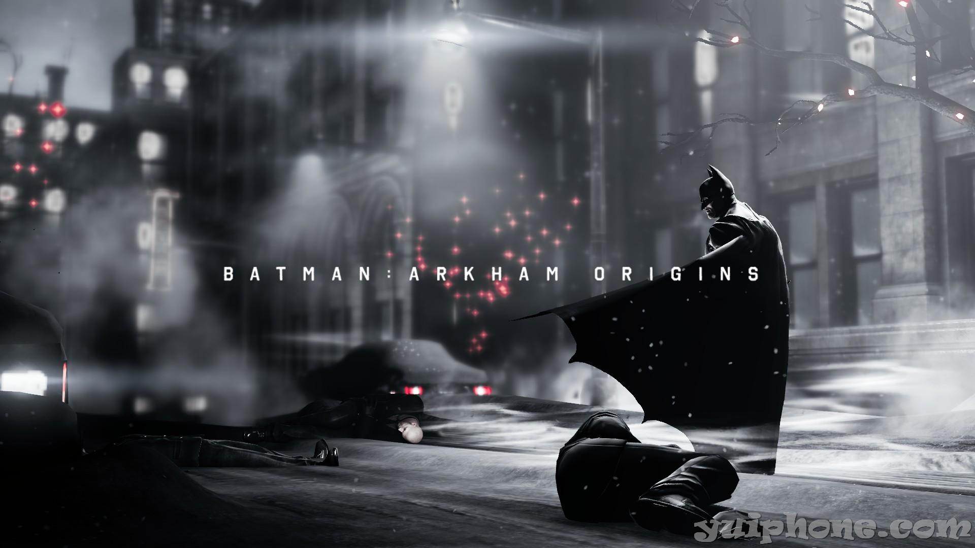 Batman Dark City Streets Arkham Origins Wallpaper Yuiphone 1920x1080