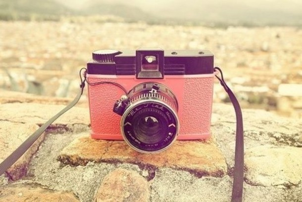 Hn9glw L 610x610 Jewels Camera Pink Cool Vintage Tumblr Weheartit Cute Ootd Bag