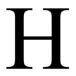 H&m robe noire