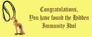 Isis Hidden Immunity Idol