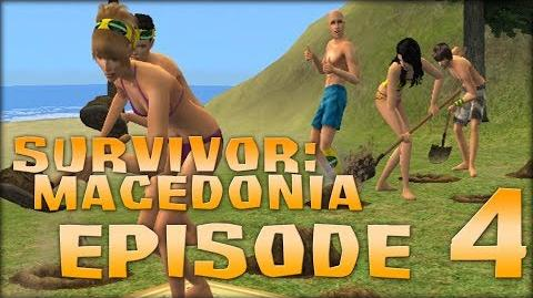"(Sims) Survivor Macedonia - Episode 4 - ""Quick, before he sees us!"""