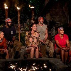 Dakal at their third Tribal Council.