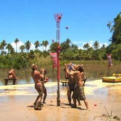 The red teams in the final stage of the challenge (<i>Philippines</i>).
