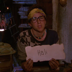 Aubry voting against Hali.
