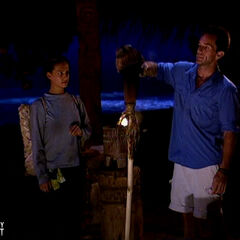 Sarah is unanimously voted out for being the tribe's biggest detriment.