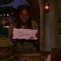 Michaela voting against Debbie.
