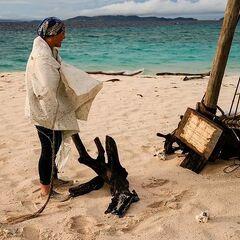 Reem on Extinction Island.