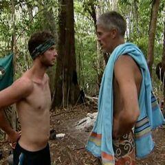 Gary talking to Brian.