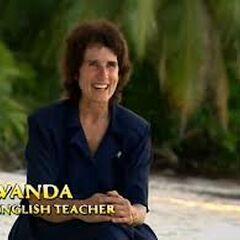 Wanda giving a <a href=