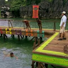 Eddie drops out of the challenge.