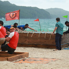 Banda competing in the first Territorial Challenge.