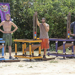 Members of Solarrion competing for immunity in <i><a href=