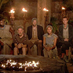 Kalokalo at their seventh Tribal Council.