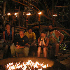 Saboga's second Tribal Council.