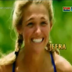 Jefra's second motion shot in the opening.