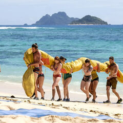 Kama competes in the second Reward/Immunity Challenge, <i><a href=