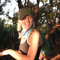 Sally Schumann, as a member of <a href=