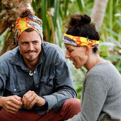 Joe with Julie at Kama camp.
