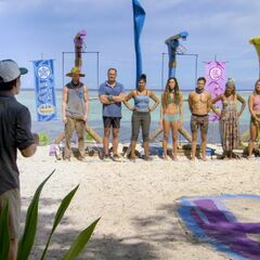 Lumuwaku before the fourth individual Immunity Challenge, <i><a href=
