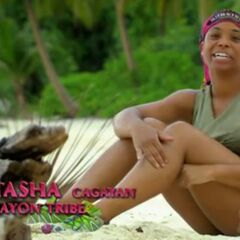Tasha giving a confessional.