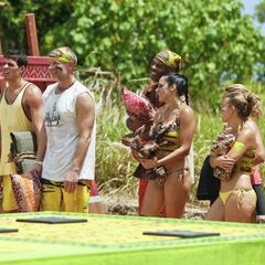 Tandang wins the first immunity.