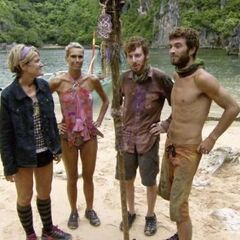 The Final 4 in <i>Caramoan</i> in the Rites of Passage.
