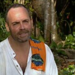 Richard Hatch as a member of <a href=