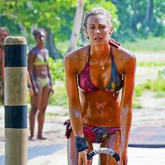 Chelsea competing for the final seven individual immunity.