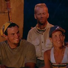The new members at Tribal Council.