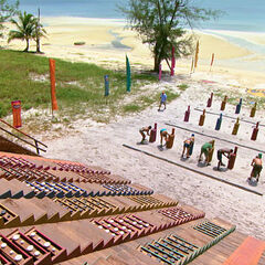 Orkun competes in the final six Immunity Challenge, <i><a href=