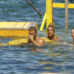 Soko competing in the fifth Immunity Challenge, <i><a href=